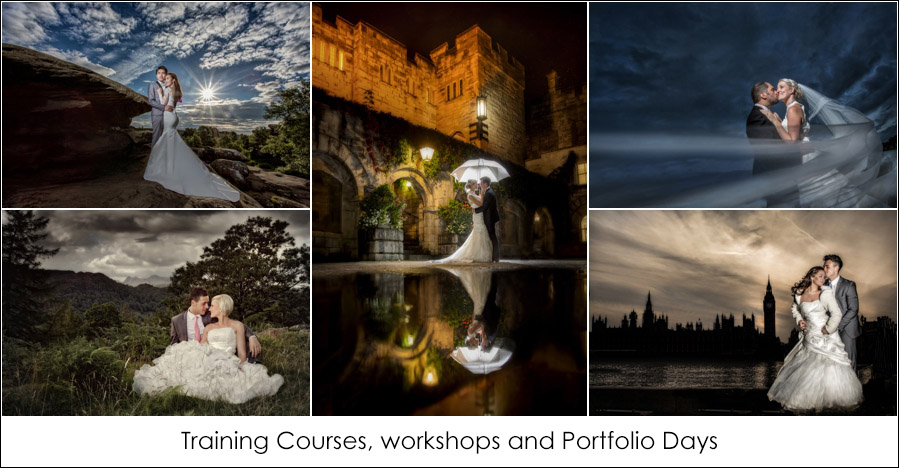 Wedding photography training courses, chris chambers photography. Award winning wedding photography.