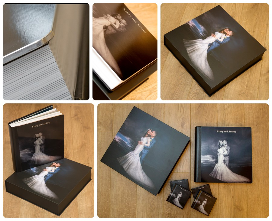 Exclusive storybook wedding album