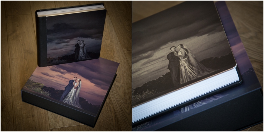 wedding albums - chris chambers photography