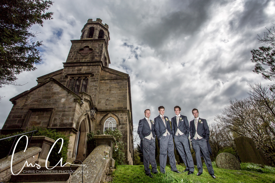 Denton Hall wedding photography, Ilkley wedding photographer at Denton Hall in Yorkshire, Award winning Denton Hall wedding photographer