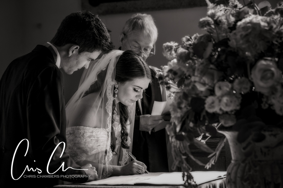 Denton Hall wedding photography, Yorkshire wedding photographer at Denton Hall, Denton Hall church wedding photography, Ilkley wedding photographer