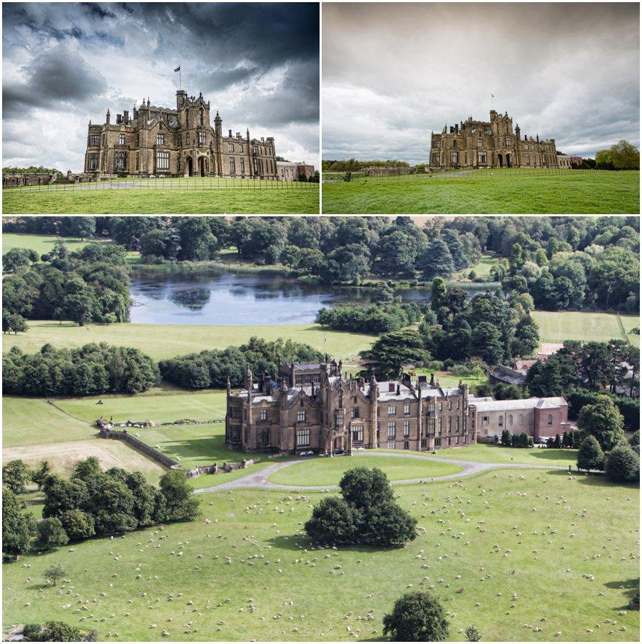 Allerton Castle Wedding photography | Allerton Castle Wedding photographs in North Yorkshire