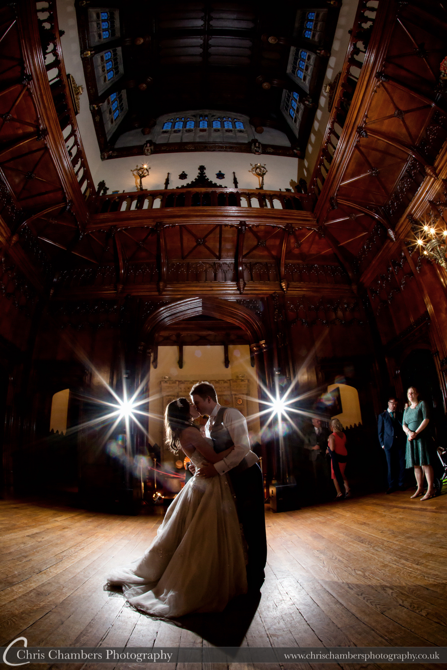 Wedding photography at Allerton Castle, North Yorkshire