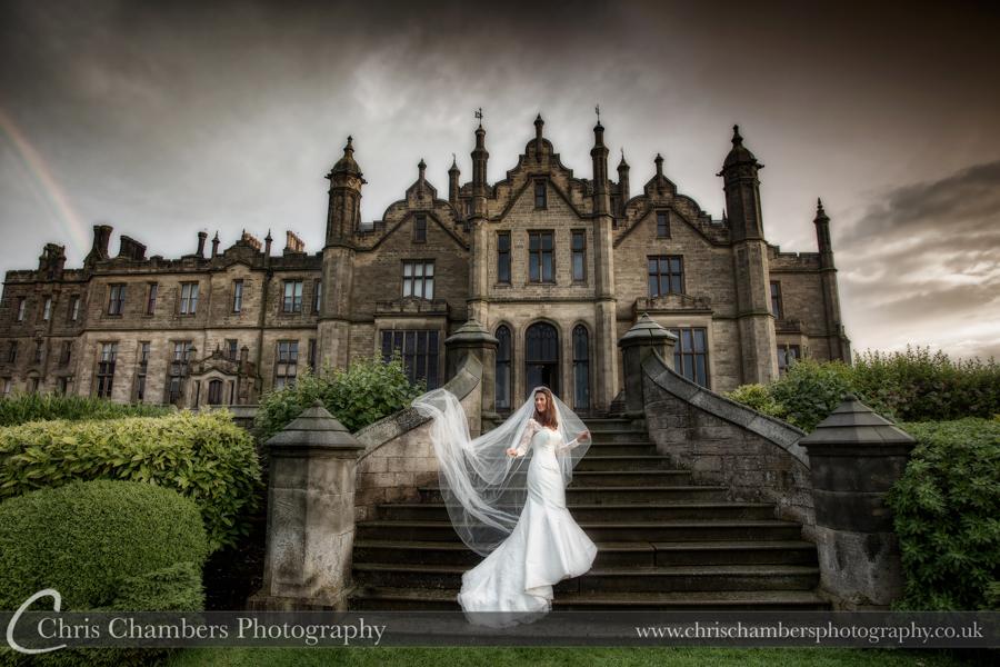 Allerton Castle Wedding photographs | Award winning Yorkshire wedding photography | Allerton Castle wedding photographer