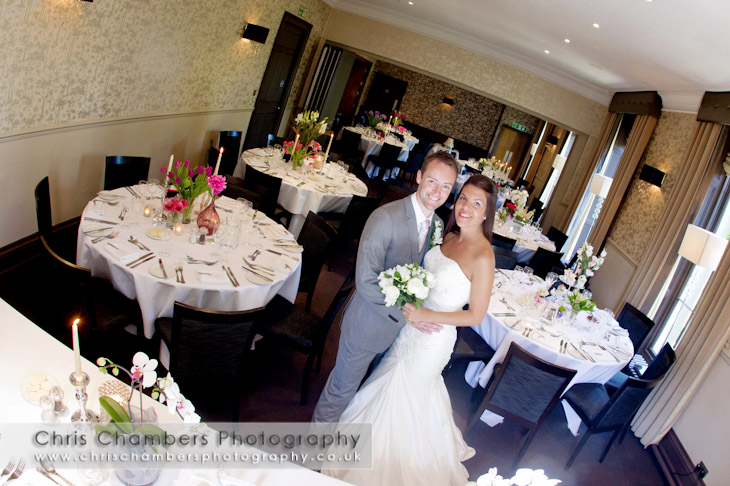 The Churchill Hotel wedding photographer | Yorkshire wedding photography at The Churchill Hotel
