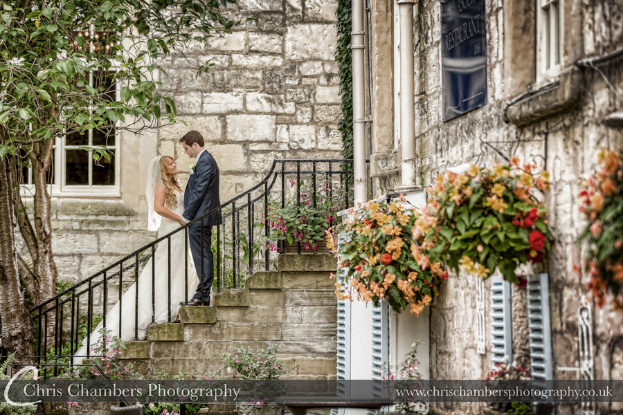 Award winning wedding photographer, Hazlewood Castle weddings
