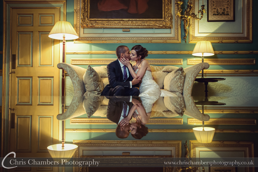 Swinton Park wedding photographer | wedding photography at Swinton Park