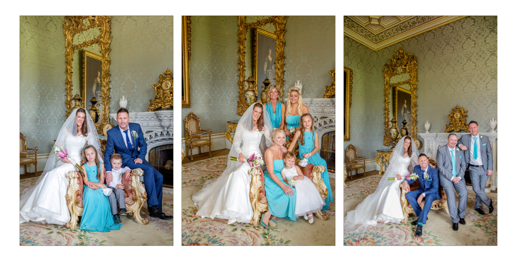 Yorkshire Wedding Photographer at Allerton Castle