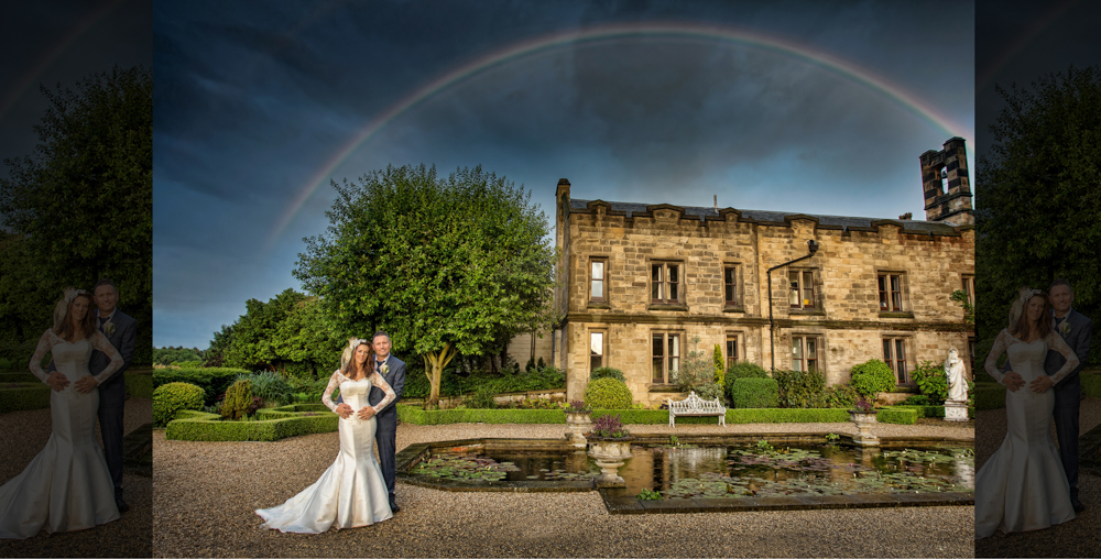 Allerton Castle award winning wedding photographer