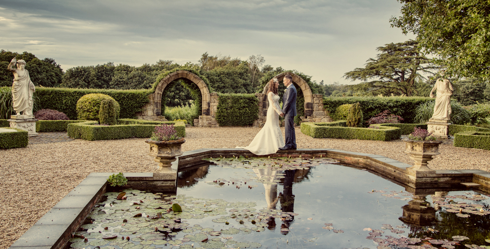 Allerton Castle Wedding Photographer in North Yorkshire