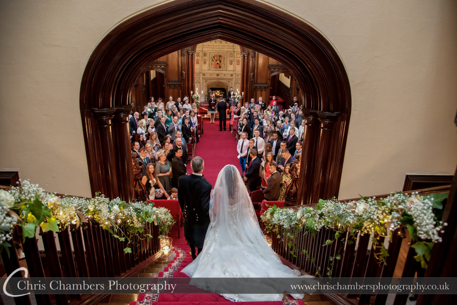 Allerton Castle Wedding photographs | Award winning Yorkshire wedding photography | Allerton Castle wedding photographer
