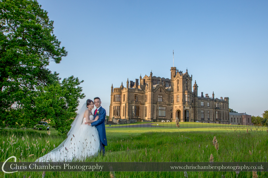 Allerton Castle Wedding Photographer in North Yorkshire | North Yorkshire Wedding Photographer | Allerton Castle Wedding Photography