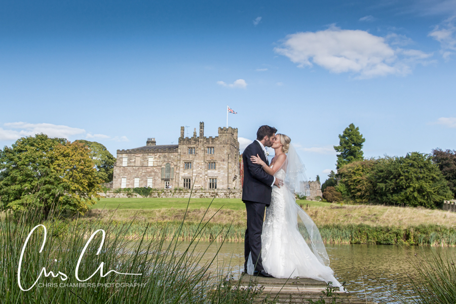 Ripley Castle award winning wedding Photography by Chris Chambers Wedding Photography, Harrogate wedding photography in North Yorkshire, Award winning Harrogate wedding photographs