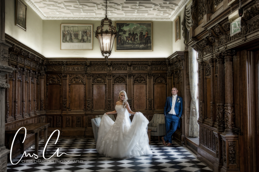 Yorkshire wedding photography at Hazlewood Castle, Chris Chambers Photography, Tadcaster wedding photographer