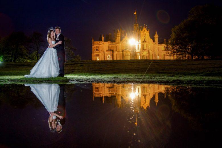 allerton castle wedding photographer : allerton castle