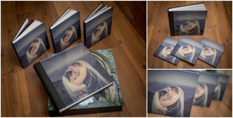 Storybook wedding album from Graphistudio. Italian storybook wedding albums