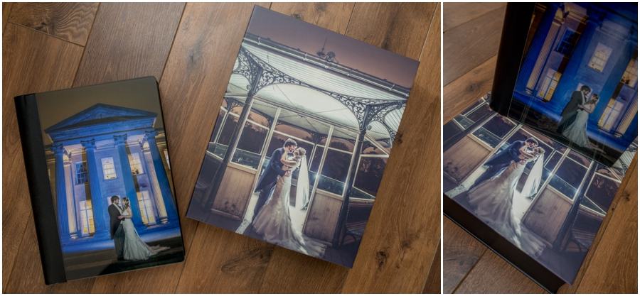 Storybook wedding album from Graphistudio. Italian storybook wedding albums
