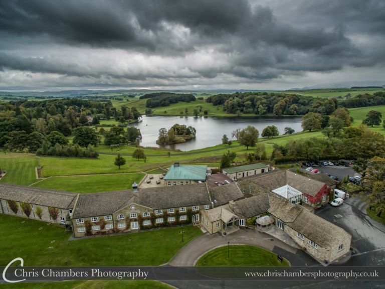 Coniston Hall Hotel Skipton North yorkshire. The wedding venue for Claire and Matthews big day