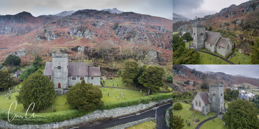 Langdale Church, Lake district