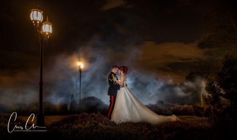 Waterton park Hotel wedding photo. Walton Hall Wakefield wedding photography from Chris Chambers