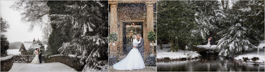 Winter wedding photography special offer package