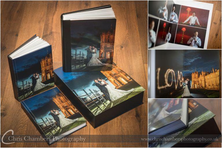 Wedding Photographer Yorkshire, Wedding albums, Award winning wedding photographer