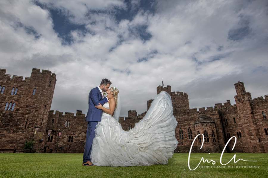 Peckforton Wedding photography, Cheshire wedding photographer, Chris Chambers Photography