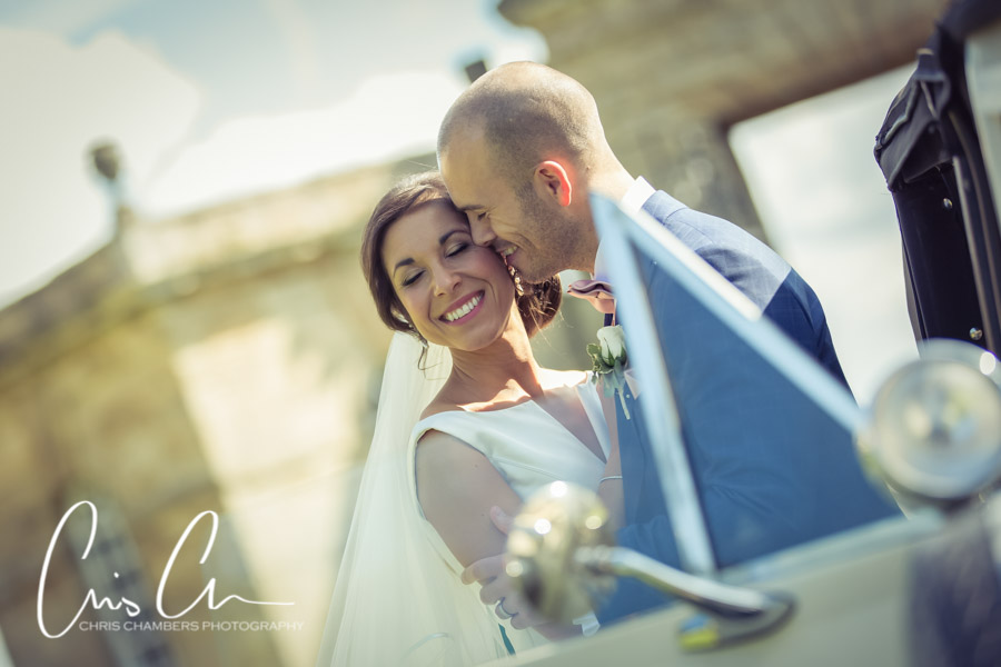 West Yorkshire wedding photographer Chris Chambers at Ledsham Church Leeds.