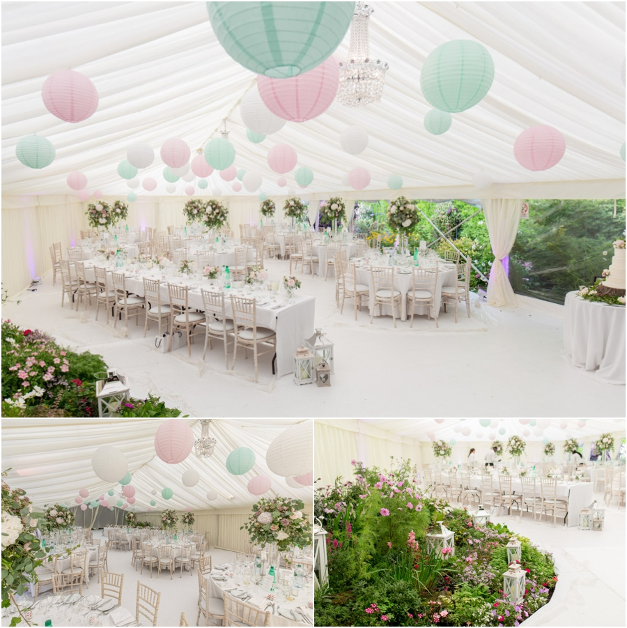 West Yorkshire wedding photographer, marquee wedding photos