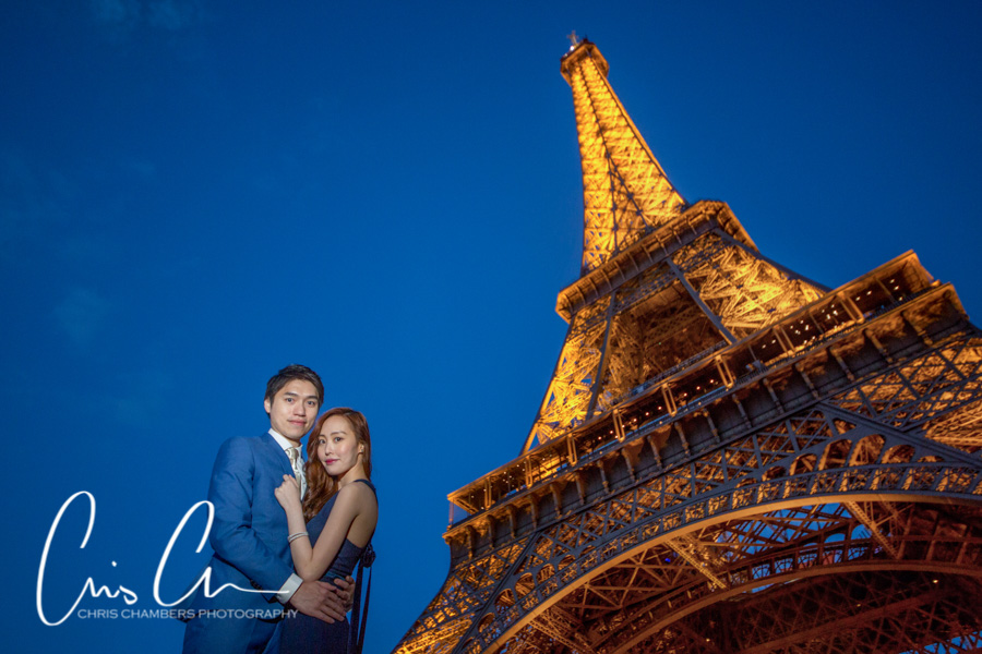 Award winning Chinese pre-wedding photography, Paris engagement photographer, Yorkshire wedding photographs
