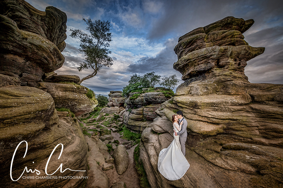 pre-wedding photography yorkshire. Chinese pre-wedding shoot.