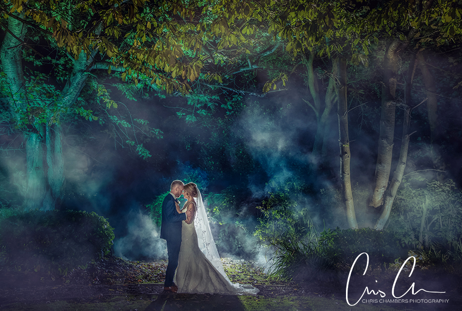 Woodlands hotel wedding photographer chris chambers