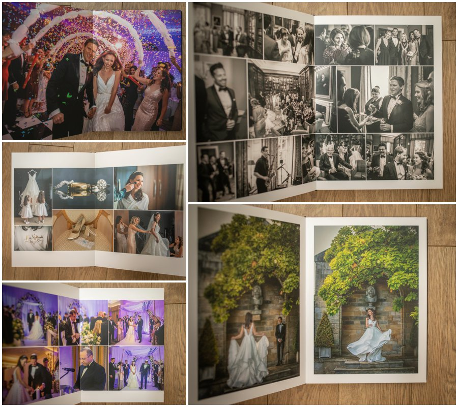 Rudding park wedding photo album. harrogate wedding