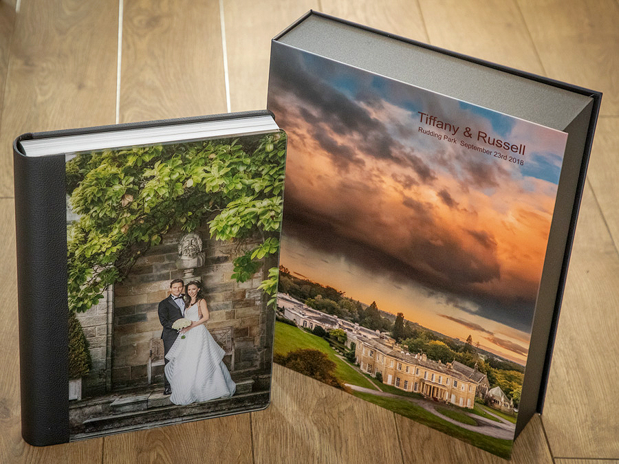 Rudding Park wedding photography - wedding photo album from rudding Park Harrogate