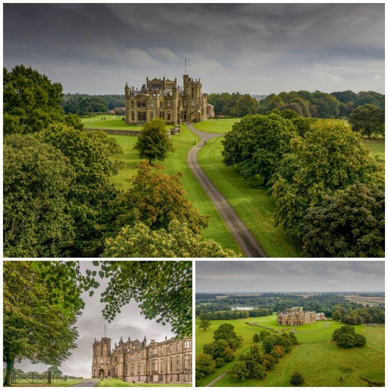 Allerton Castle wedding photograph Yorkshire wedding venue