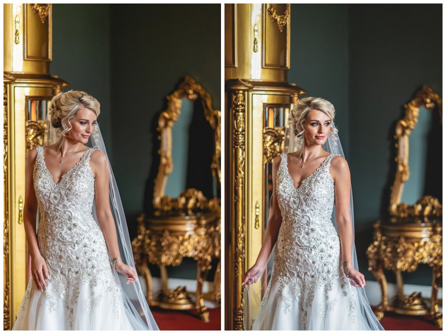 Allerton Castle wedding photograph Yorkshire wedding venue