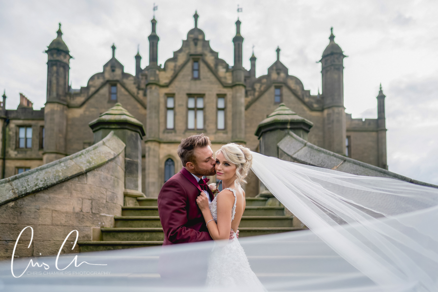 Allerton Castle wedding photograph