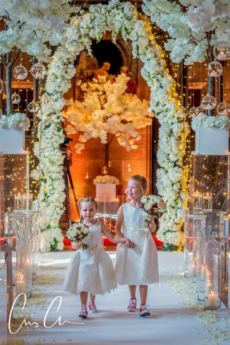Peckforton Castle weddings - Cheshire wedding photographer Chris Chambers