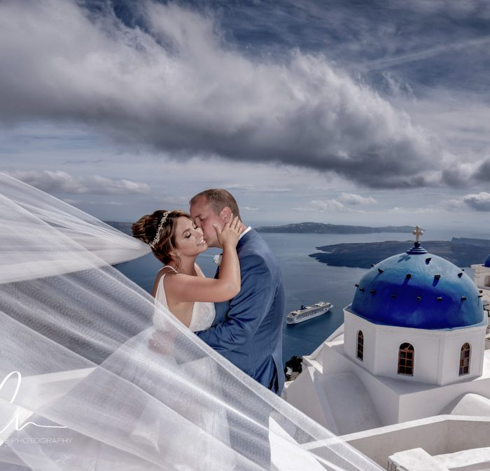 Laura and Mike's Wedding in Santorini | Santorini Wedding Photographer | Cavo Ventus Wedding Photography