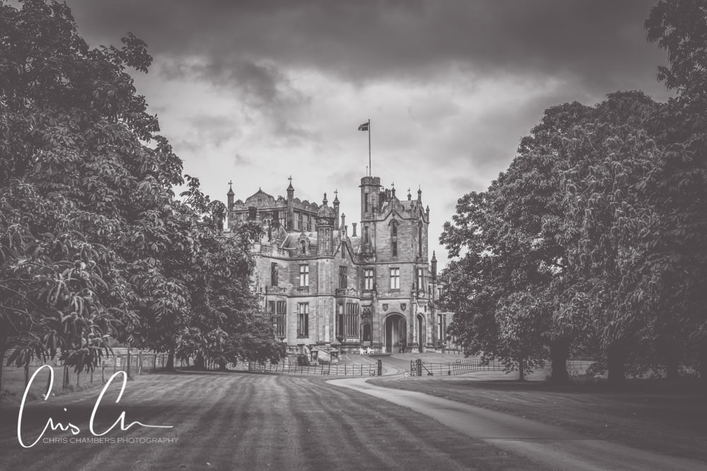 Allerton Castle wedding photographs. Yorkshire castle wedding venue