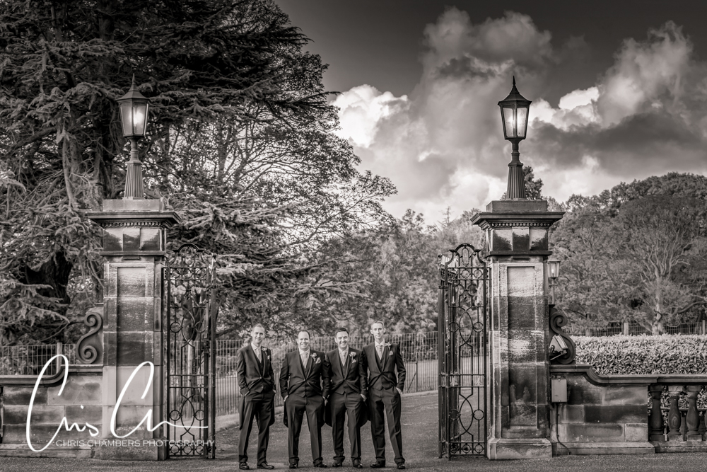 Denton Hall wedding photography. Ilkley wedding venue