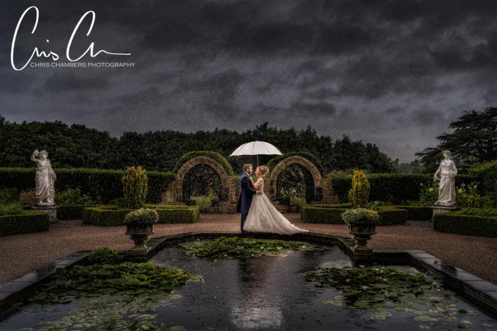 Allerton Castle wedding photographs. Yorkshire wedding photographer.