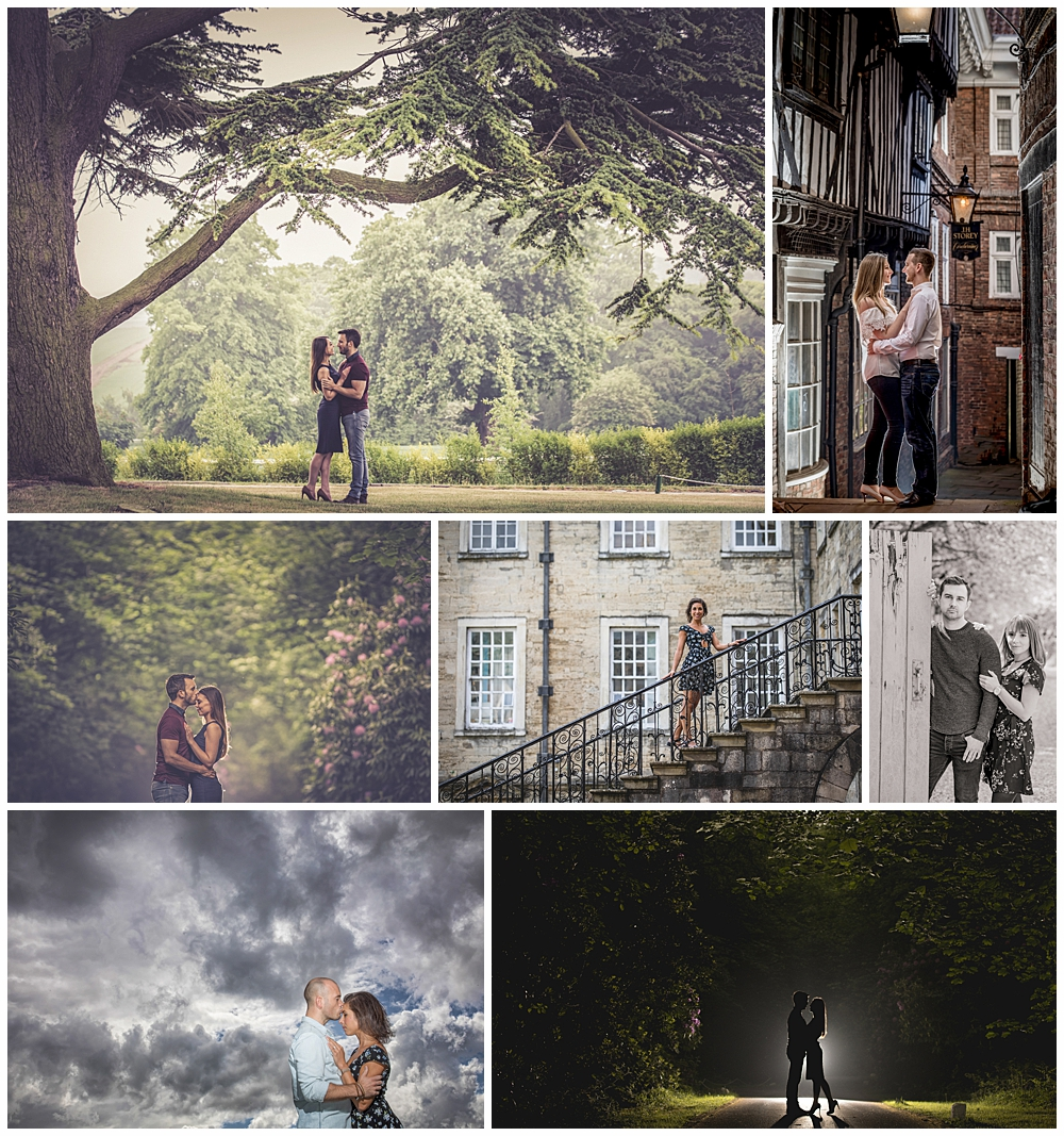 Pre-wedding and engagement photography shoots