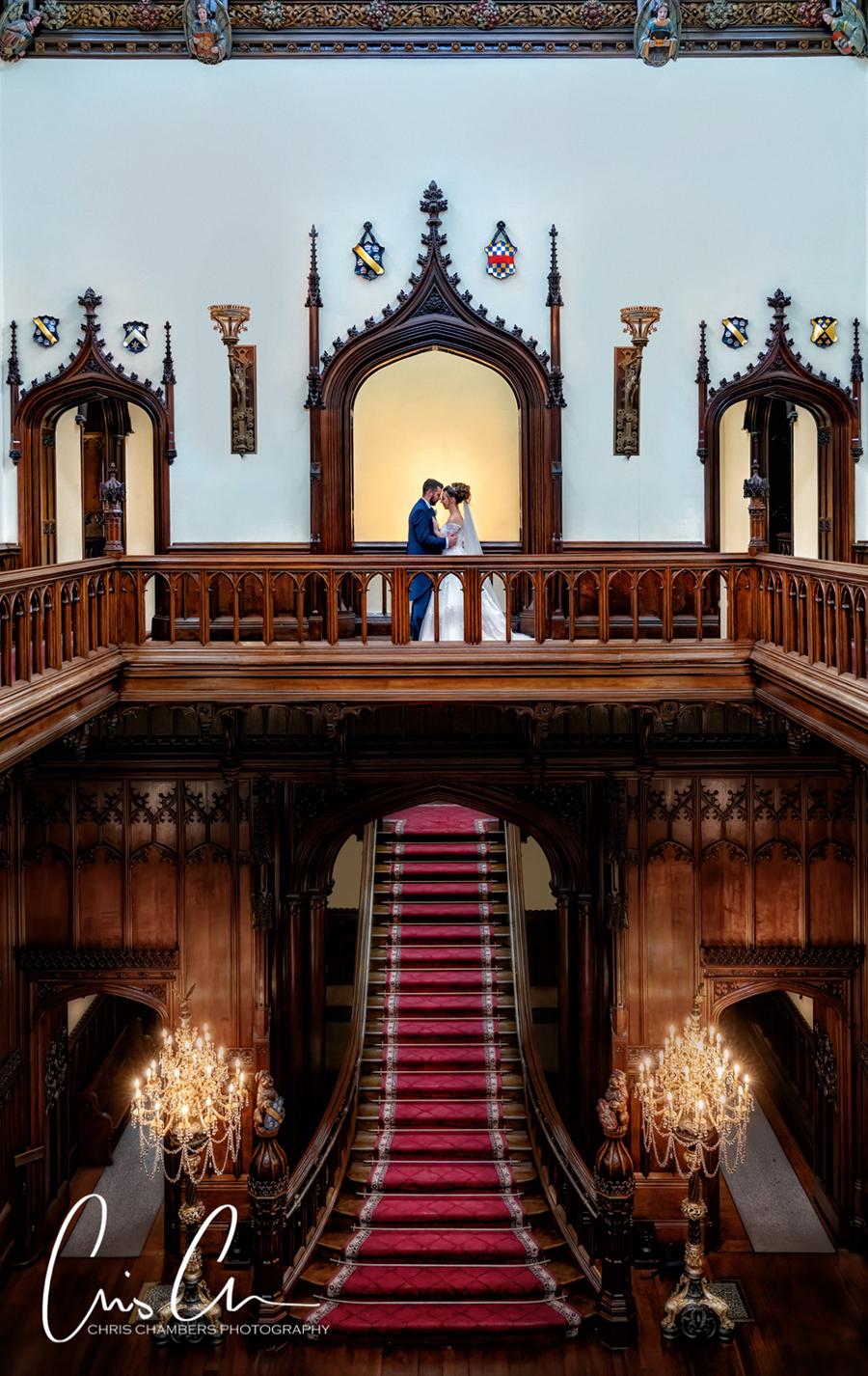 Allerton Castle wedding photographers