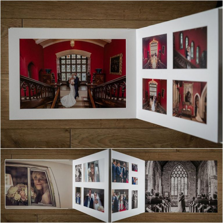 Carlton Towers wedding photography albums