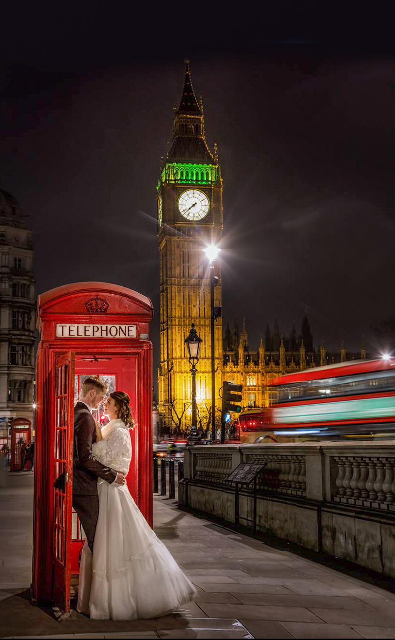 London wedding photography bride and rgoom near Westminster and big ben