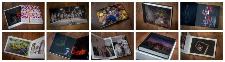wedding photograph albums, handmade in iItaly