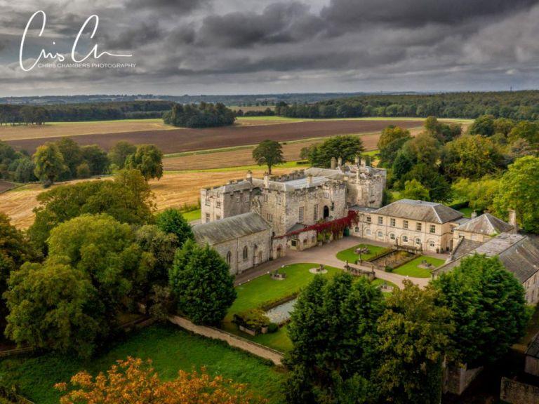 Hazlewood Castle, Yorkshire wedding venue - Chris Chambers Photography