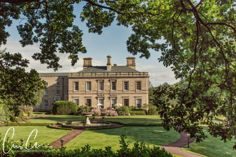 Oulton hall, leeds. West Yorkshire wedding venue - Chris Chambers Photography